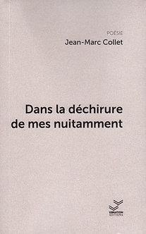 Dans la déchirure de mes nuitamment - Jean-Marc Collet