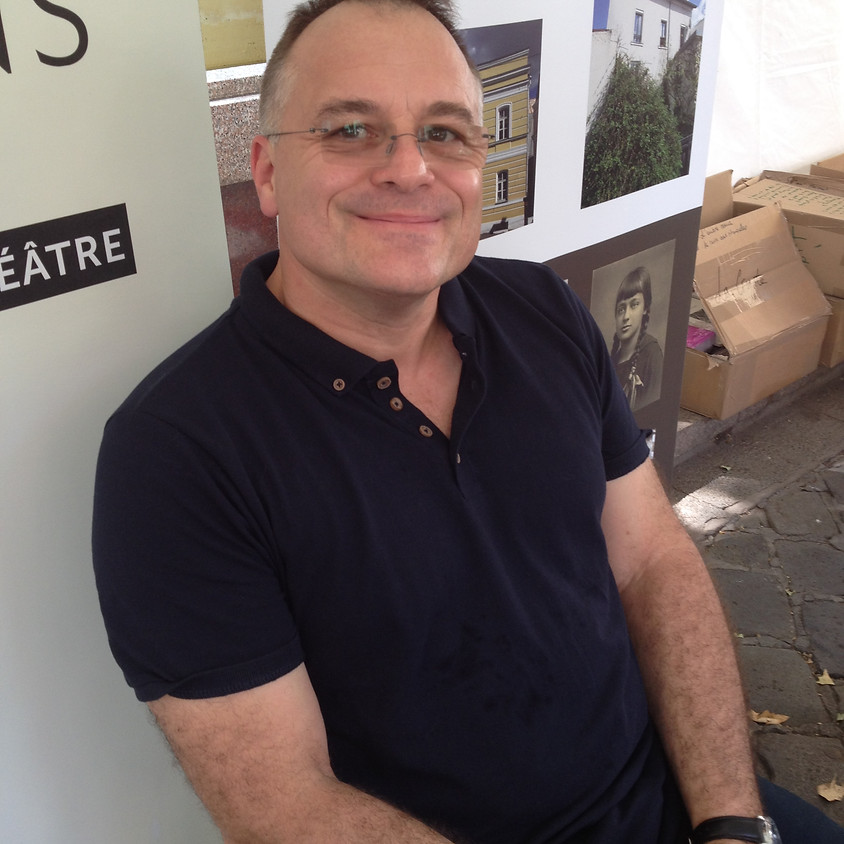 Jean-Marc Collet en dédicace à la librairie La Lucarne des écrivains