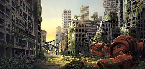 Abandoned, futuristic city.jpg