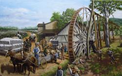 Shannon, Georgia Waterwheel circa 1885