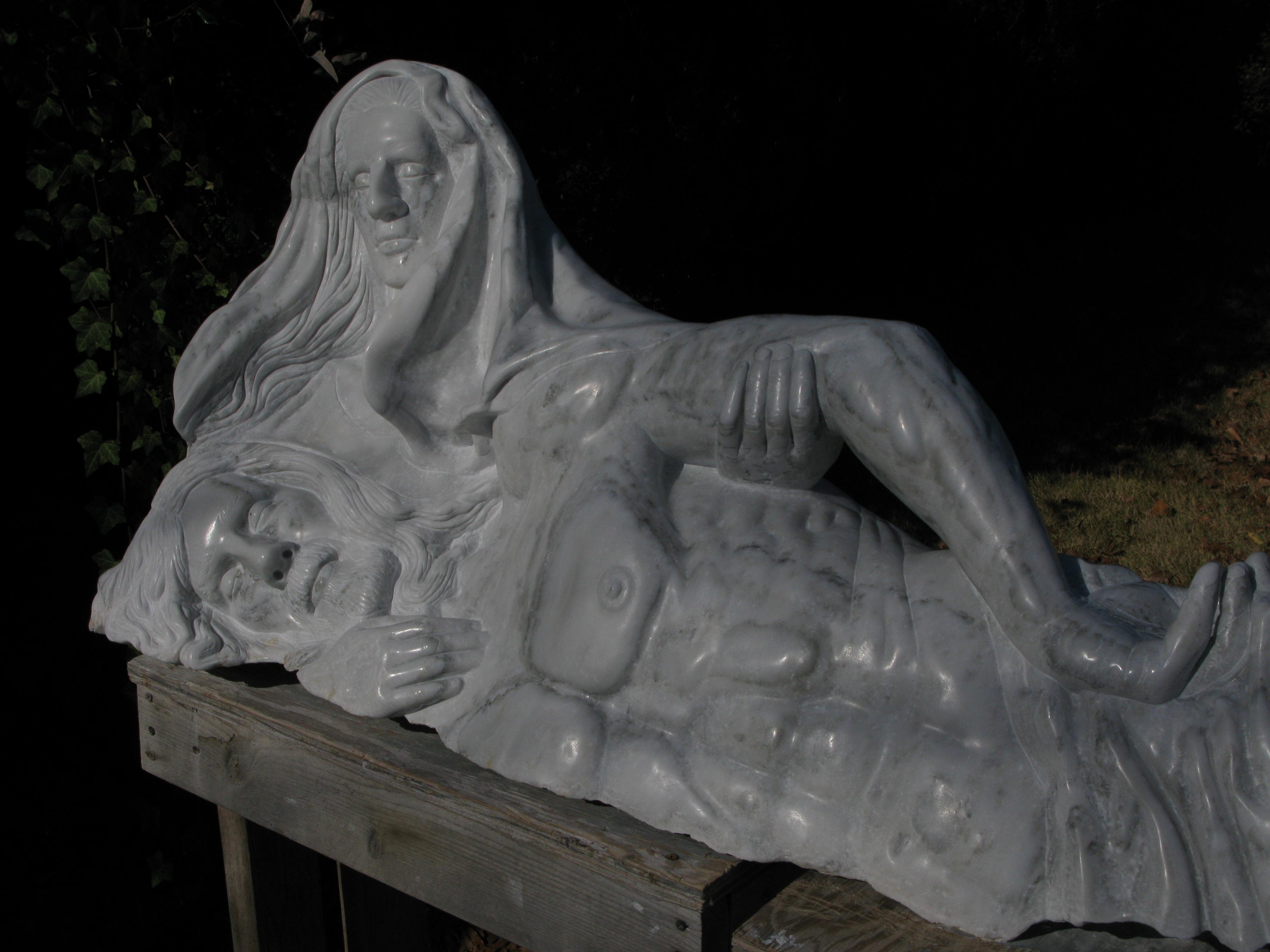 Pieta Detail