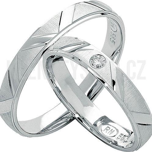 Snubní prsteny - R128