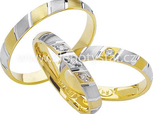 Snubní prsteny - R82