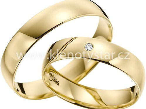 snubní prsteny - R137
