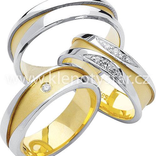 Snubní prsteny - R57