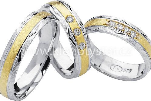Snubní prsteny - R79