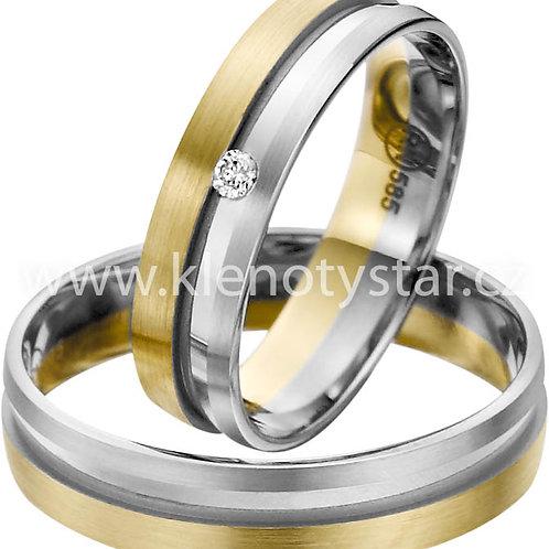 snubní prsteny - R142