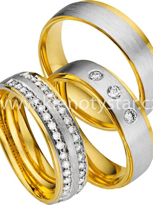 Snubní prsteny - A32