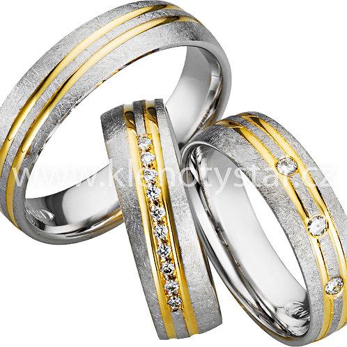 Snubní prsteny - A25