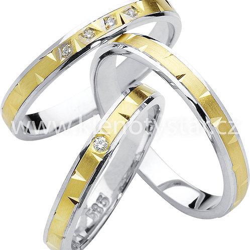 Snubní prsteny - R78