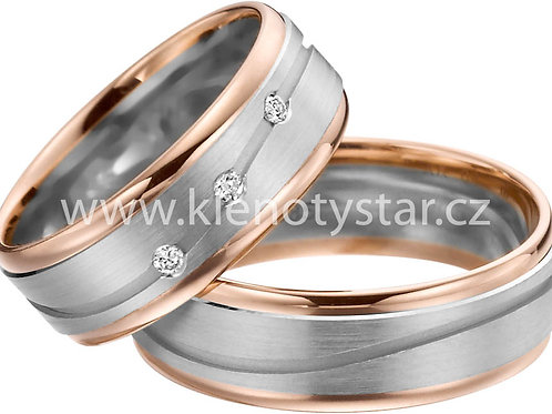 Snubní prsteny A 37