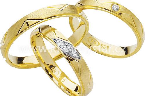 Snubní prsteny - R81