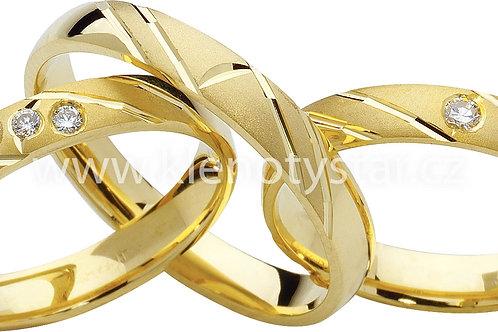 Snubní prsteny - R73