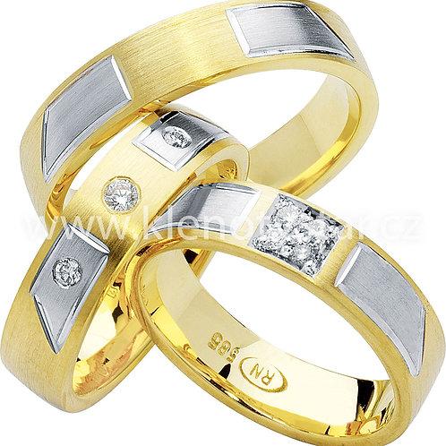 Snubní prsteny - R62