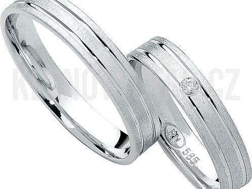 Snubní prsteny - R118