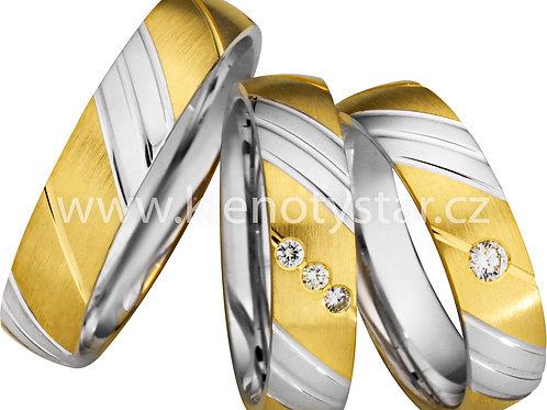 Snubní prsteny - A04