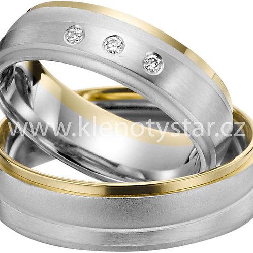 Snubní prsteny A 43