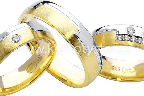 Snubní prsteny - R51