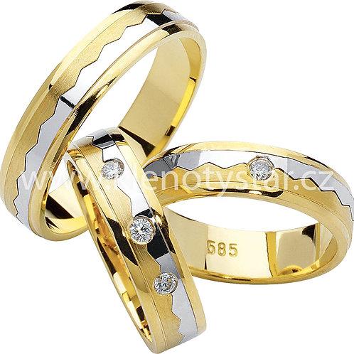 Snubní prsteny - R61