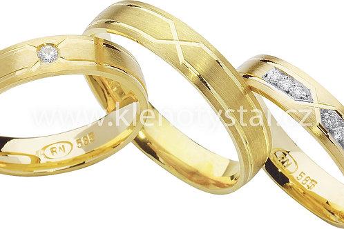 Snubní prsteny - R77