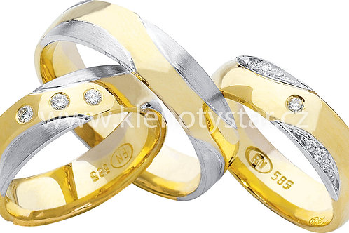 Snubní prsteny - R58