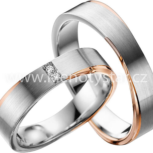 Snubní prsteny A 42