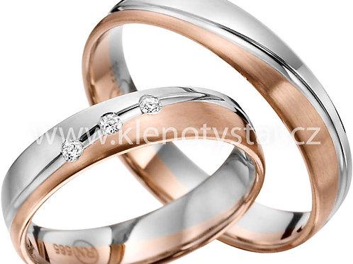 snubní prsteny - R145