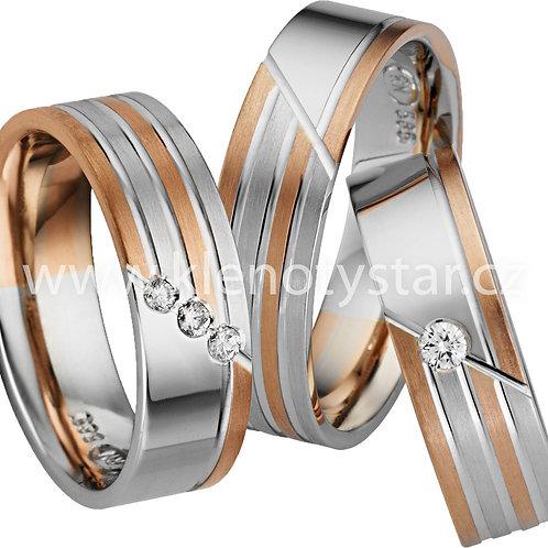 Snubní prsteny - A12