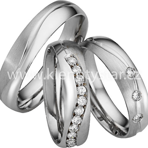 Snubní prsteny - A18