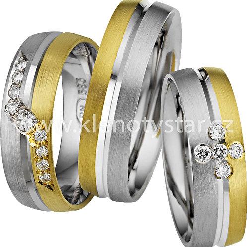 Snubní prsteny - A03