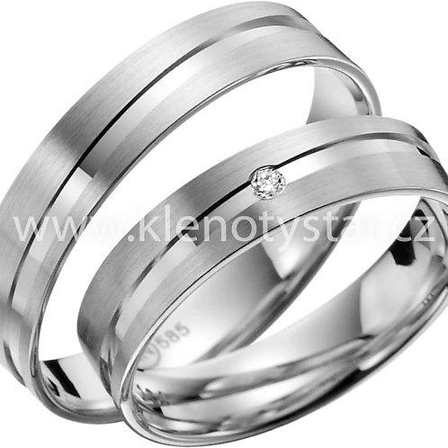 snubní prsteny - R134