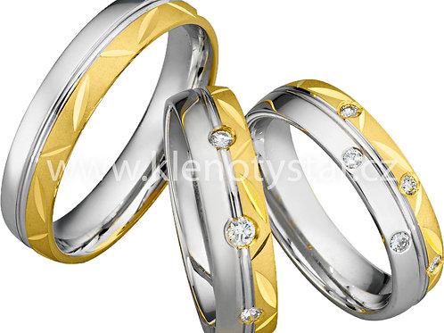 Snubní prsteny - A27