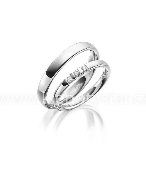 Snubní prsteny R 204
