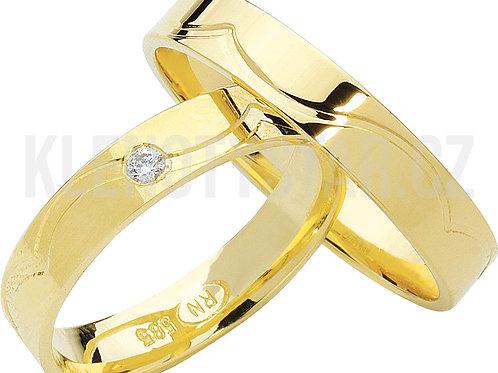 Snubní prsteny - R131