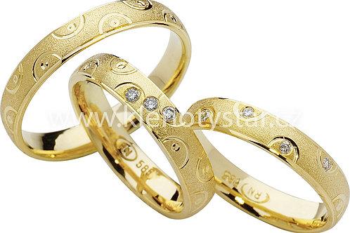 Snubní prsteny - R80