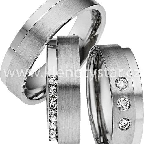 Snubní prsteny - A19