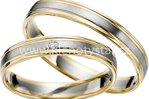 snubní prsteny - R143