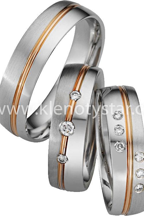 Snubní prsteny - A09