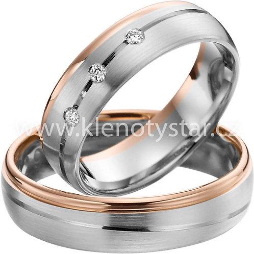 Snubní prsteny A 39