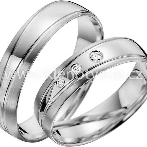 snubní prsteny - R136