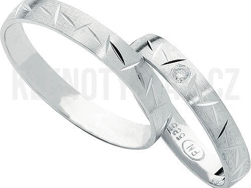Snubní prsteny - R122