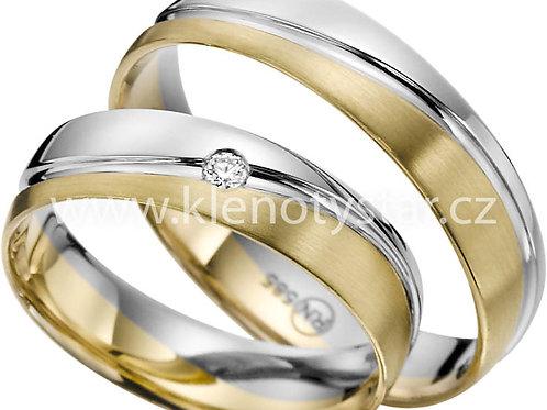snubní prsteny - R141
