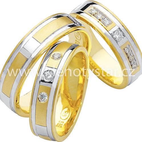 Snubní prsteny - R54
