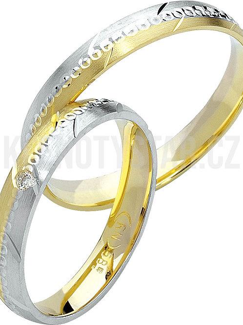 Snubní prsteny - R125