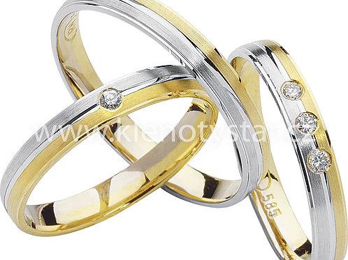 Snubní prsteny - R71