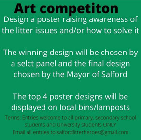 Got a creative side and keen to help reduce litter? We have the art competition for you!