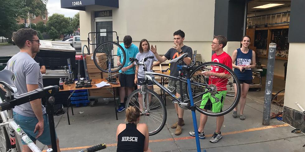 July 2019 Intro to Bike Mechanics Class - Wednesdays (1)