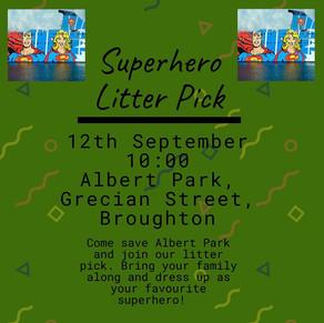 Superhero Litter Pick: 12th September