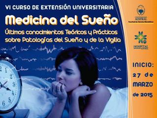 VI Curso de Extensión UnIversitaria MEDICINA DEL SUEÑO