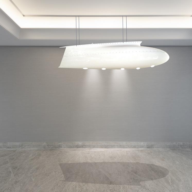 Luminaire Radome Falcon 900 Aero-Design